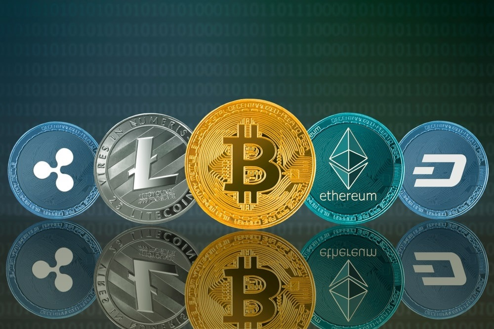 Major Types of Cryptocurrencies